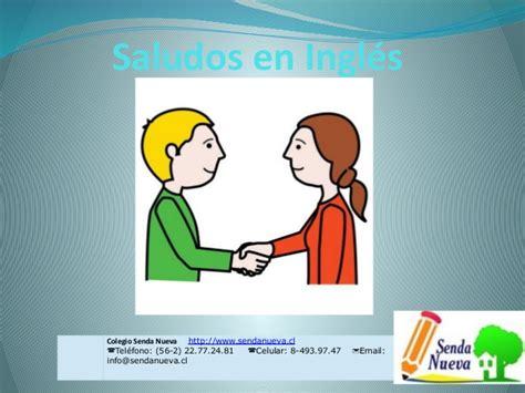 imagenes en ingles de los saludos saludos en ingl 233 s