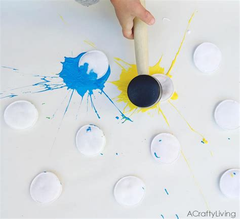 activity crafts paint splat activity for crafty morning