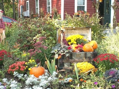 Fall Garden Flowers Fall Flower Garden Pic