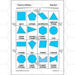 properties of 2d shapes 2d shapes worksheets ks2