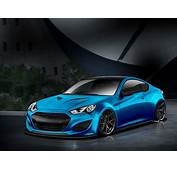 Atlantic Blue Hyundai Genesis Coupe Will Make Waves At SEMA