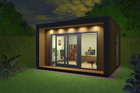Insulated Garden Office, Contemporary Garden Office