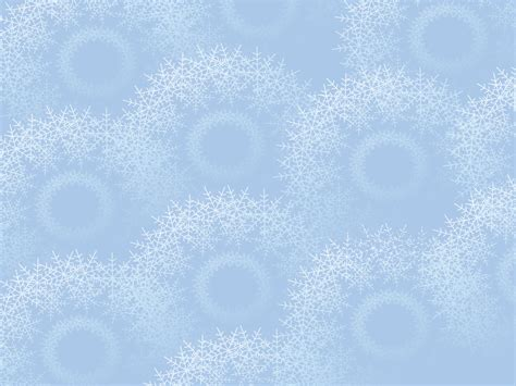 Snowflakes On Light Blue Backgrounds Blue Christmas Light Color Ppt Templates Free