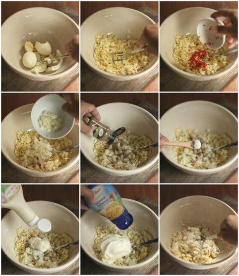 resepi sandwich telur sedap  mudah resepi mudah