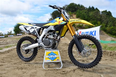 2019 Suzuki 250f by 2019 Suzuki Rm Z250 Impression Dirt Bike Magazine