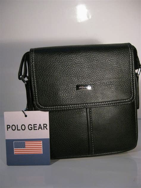Tas Selempang Slempang Pria Wanita Kulit Polo Impor tas pria barang keren