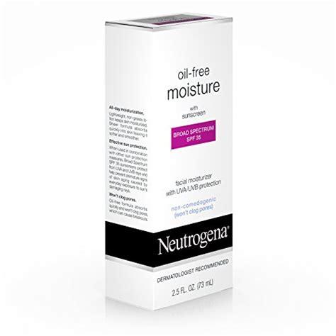 Review Neutrogena Moisture Shoo by Neutrogena Free Moisture With Broad Spectrum Spf 35