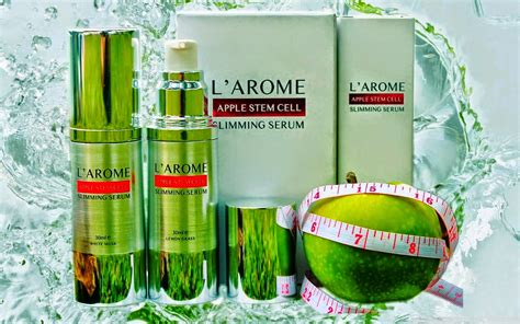 Pelangsing Apel larome apple stem cell slimming serum