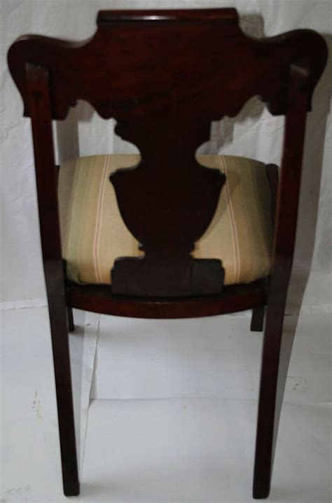 Paine Furniture Company by Set Of Mahogany Chairs Paine Furniture Co