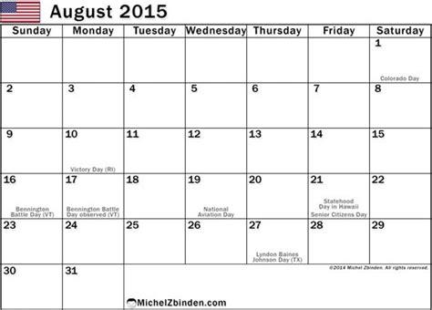printable weekly calendar for august 2015 8 best images of printable august 2015 calendar week