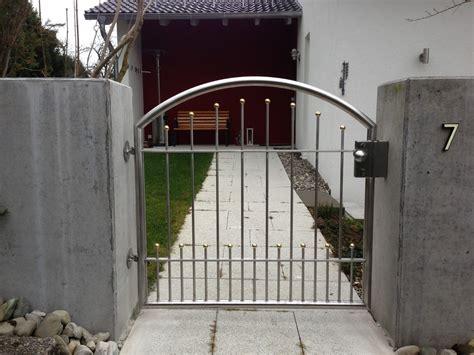 Gartentor Aus Edelstahl by Schlosserei Metallbau Kohlhaas Tore Aus Edelstahl
