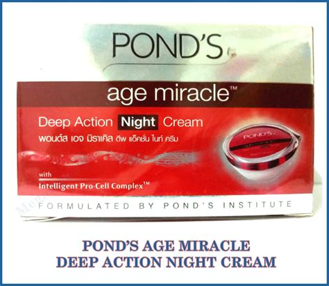 Ponds Age Miracle 10 G ponds age miracle with intelligent