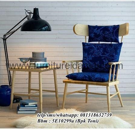 Kursi Santai Empuk kursi santai minimalis vintage jati furniture idaman