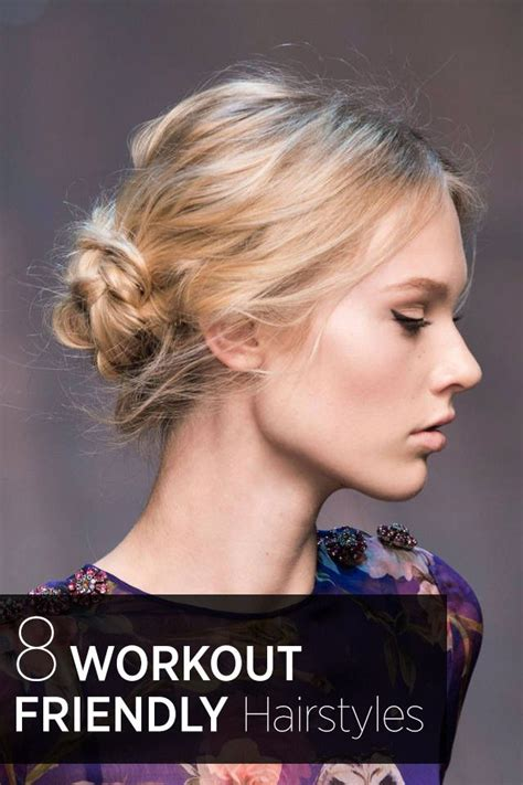 Hairstyles For Working Out by 8 Hairstyles For Working Out