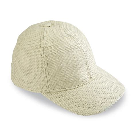 joe boxer s straw baseball hat