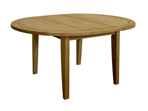 Linden Oak Dining Room Furniture Round Extending Dining Extending Oak Dining Tables