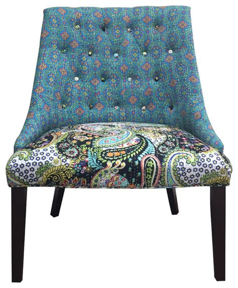 Colorful Accent Chair Colorful Chair Eclectic Armchairs And Accent Chairs