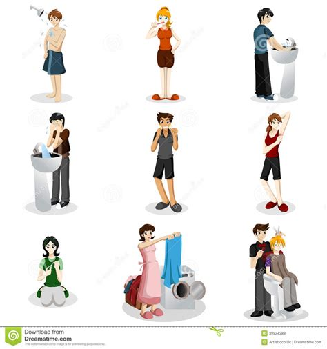 Bath Shower Seats hygienic people stock vector image 39924289