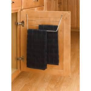 Rev a shelf 7 in h x 13 in w x 4 in d cabinet door mount towel