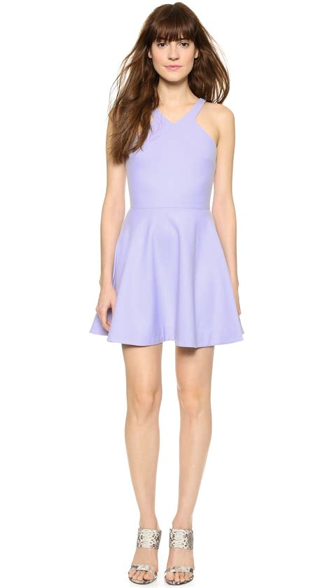 Sonya Tunik Mini Dress Maxi Jersey by Elizabeth And Sonya Dress Lavender In Purple Lyst
