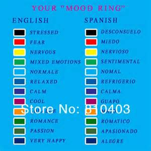 moon ring colors moon shape mood rings fashionable ring change