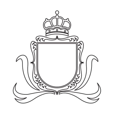 coat of arms template coat of arms template icons by canva