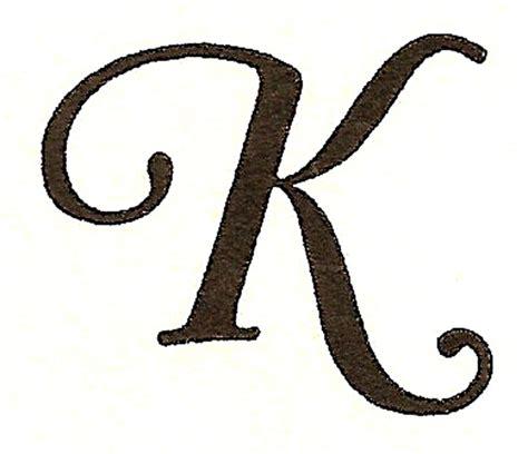 tattoo fonts letter k catnipstudiocollage monogram monday the letter k