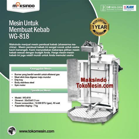Mesin Kebab Burner Kebab Pemanggang Kebab Daging 4kg mesin kebab untuk membuat kebab toko mesin maksindo toko mesin maksindo