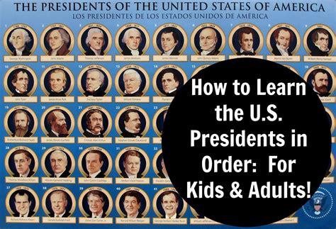 president s pics for gt all presidents in order