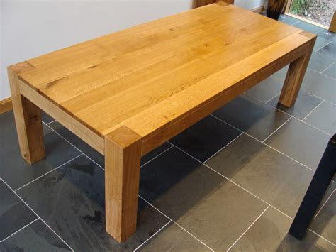 Chunky Dining Table Chunky Oak Dining Table