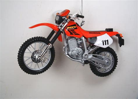 red honda xr400r dirt bike off road motorcycle christmas