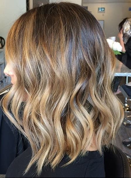 ombre hair for brunettes beachy brunette with highlights neil george