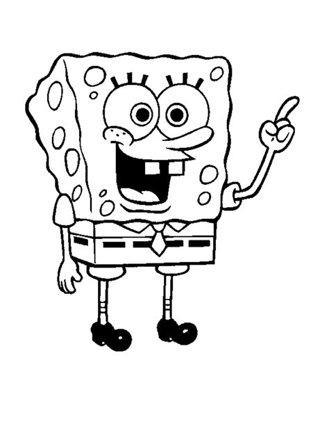 free coloring pages of christmas spongebob