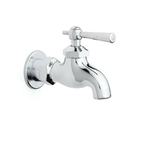 Single Wall Mount Faucet With Lever Handle Wall Mount Wall Faucet Bathroom