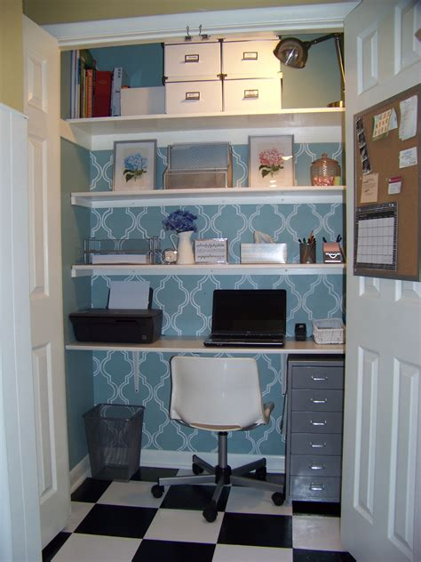 Home Office Closet Room Decorating Before And After Makeovers