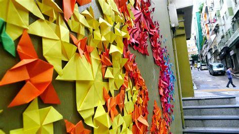 Origami Artist - mademoiselle maurice origami installations