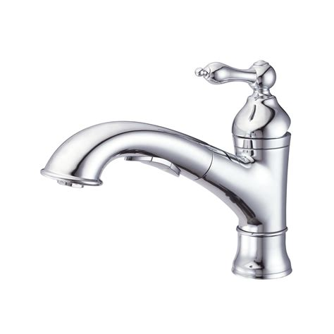 single kitchen faucets danze d455040 fairmont single handle pull out kitchen faucet atg stores