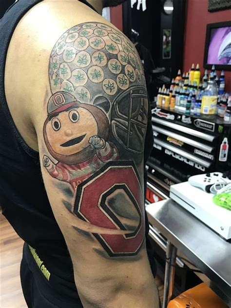 ohio state tattoos 25 best ideas about ohio state tattoos on