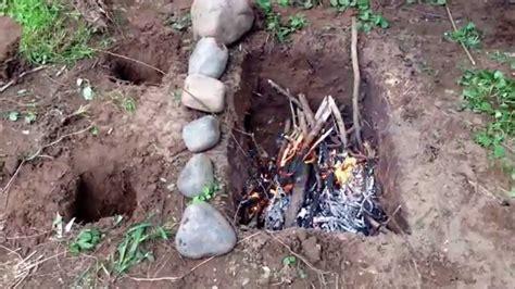 Sas Survival Handbook Dakota Fire Pit Youtube Dakota Firepit