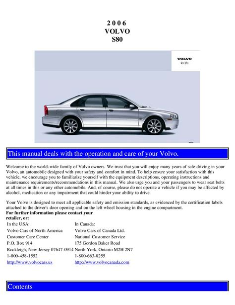 service manual repair voice data communications 2006 volvo c70 parental controls service