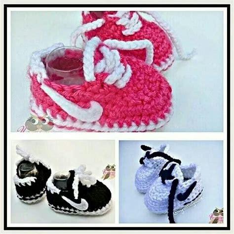 pattern crochet nike booties so cute nike crochet baby booties crochet