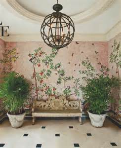 Pink Chandelier Mary Beth Chinoiserie Chic Pink And Black Inspiration
