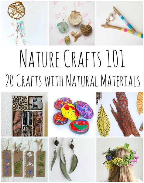 nature craft for nature crafts 101 20 stunning crafts using items found