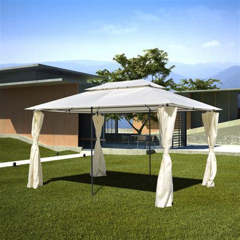 gazebo 3 x 4 vidaxl co uk vidaxl garden gazebo steel 3 x 4 m