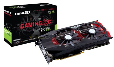 Vga Card Inno3d Gtx 1080 Ti X2 11gb Ddr5 inno3d s geforce gtx 1080 ti gaming oc x2 spotted