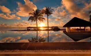 Tiki Hut Resorts 25 Natural Sunset Wallpapers And Desktop Backgrounds