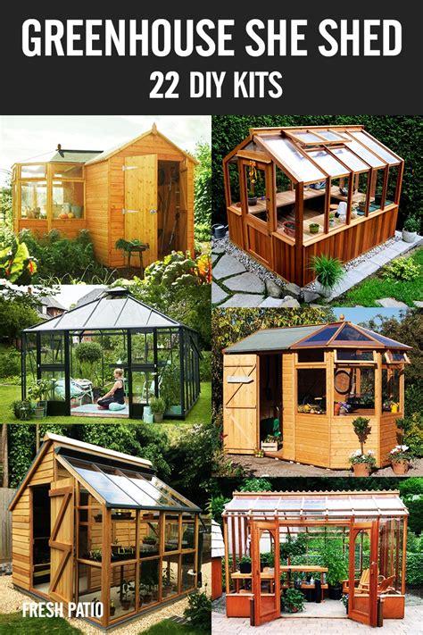 she shed kits greenhouse she shed 22 awesome diy kit ideas