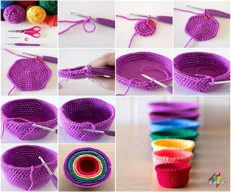 15  Beautiful & Easy DIY Crochet Projects   Step by step