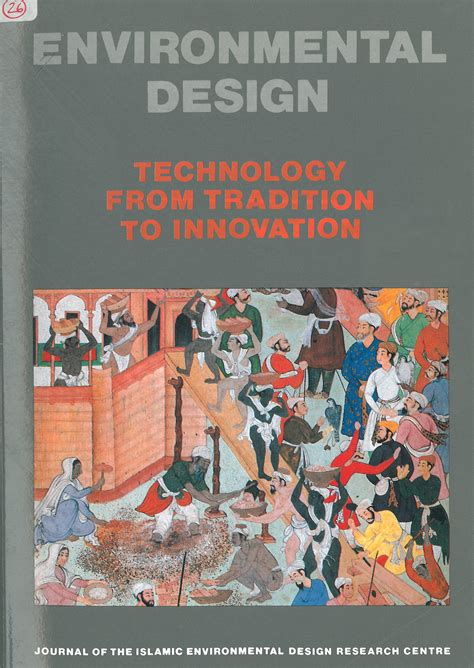 design for environment journal environmental design technology from tradition to