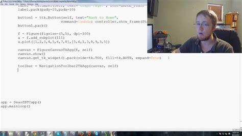 tutorial tkinter python 3 how to add a matplotlib graph to tkinter window in python